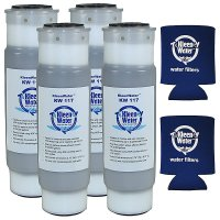 Four 2.5 X 9.75 Inch Water Filters Compatible with AquaPure AP117