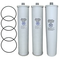 Everpure CC1E System Compatible Water Filters, Set of 3
