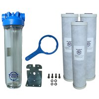Premier Chlorine Whole House Water Filter System 4.5 x 20