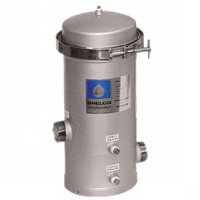 Shelco Stainless Steel Water / Fluid Filter Housing - 7 Cartridges