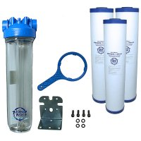 Premier Sediment Whole House Water Filter System 4.5 x 20