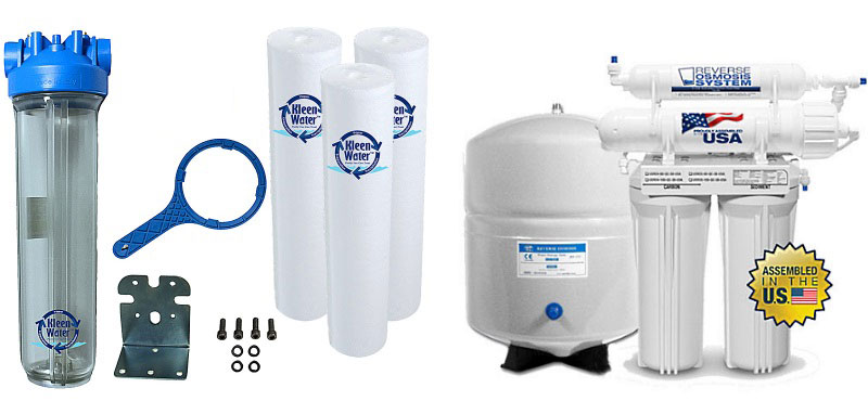 Commercial Kleen Water Filtration Systems
